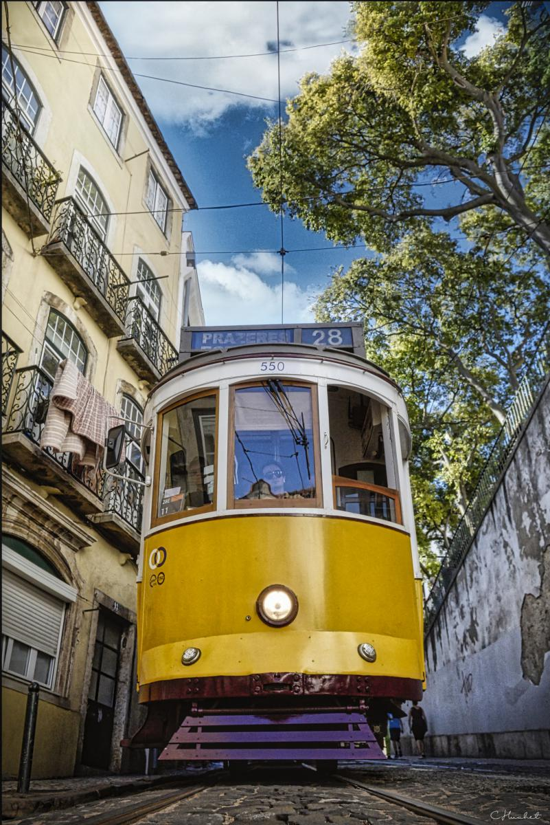 Photo Tramway de Lisbonne