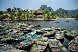 Photo Village de Tam Coc • Baie d'Halong terrestre • Tonkin • Vietnam