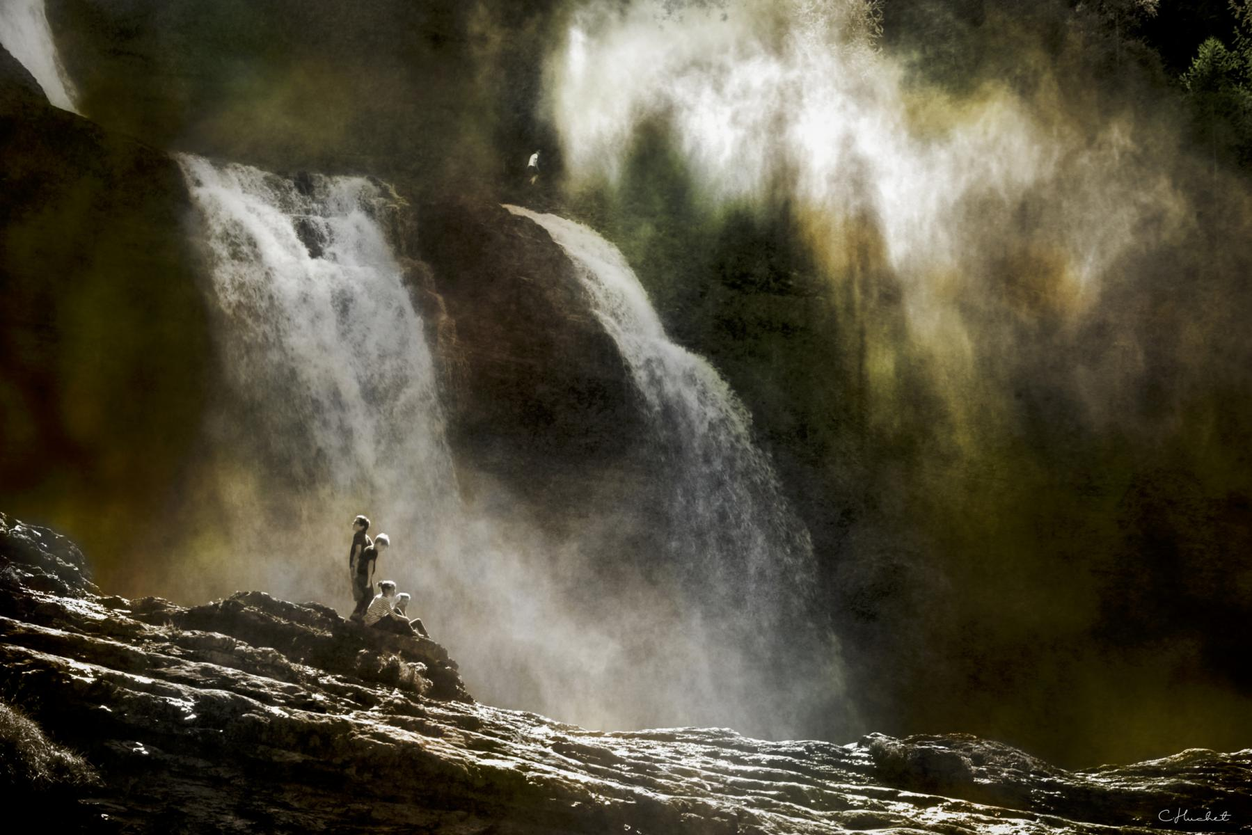 Photo Cascade Rouget • Haute-Savoie