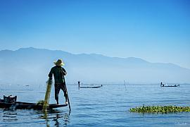 Photo Inle lake • Myanmar