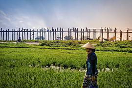 Photographie U Bein bridge • Myanmar