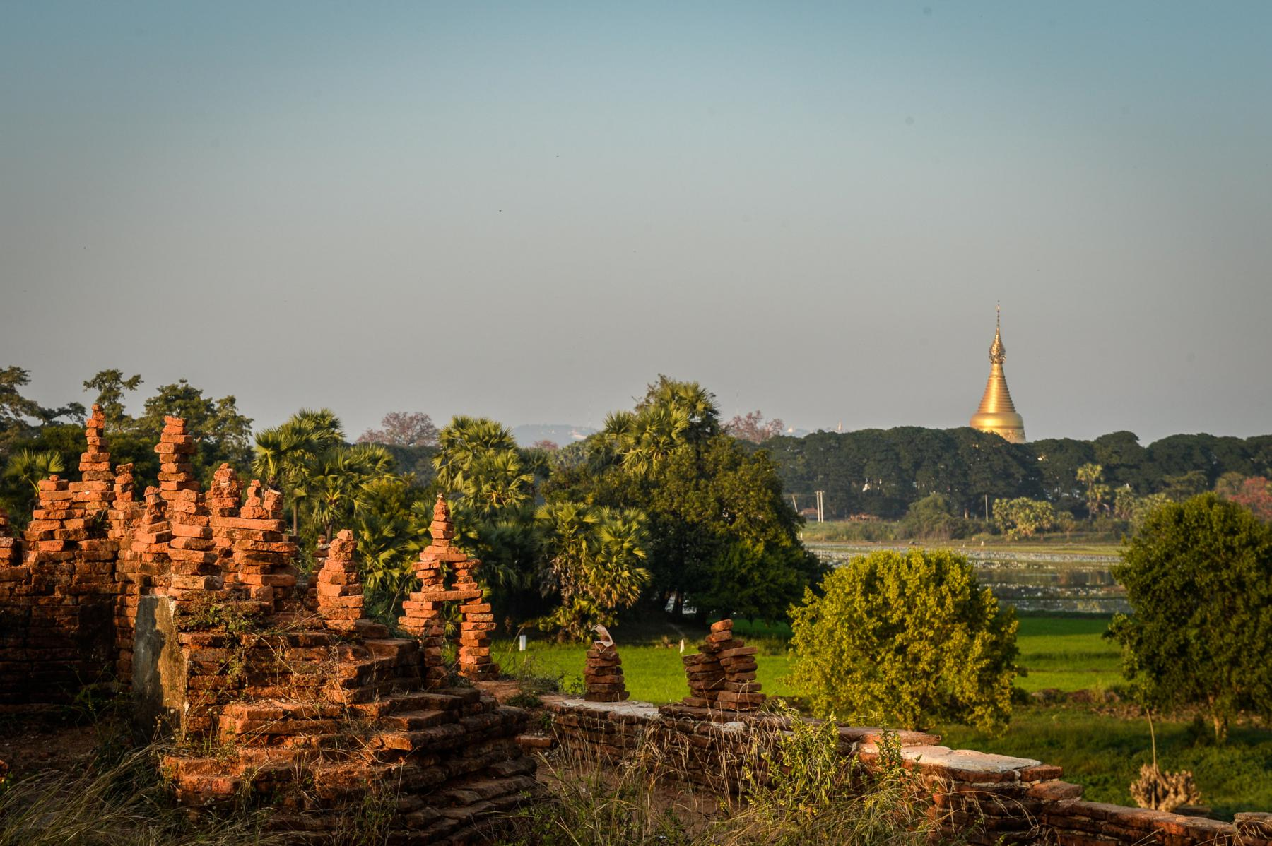 Photo Paysage • Sagain • Myanmar