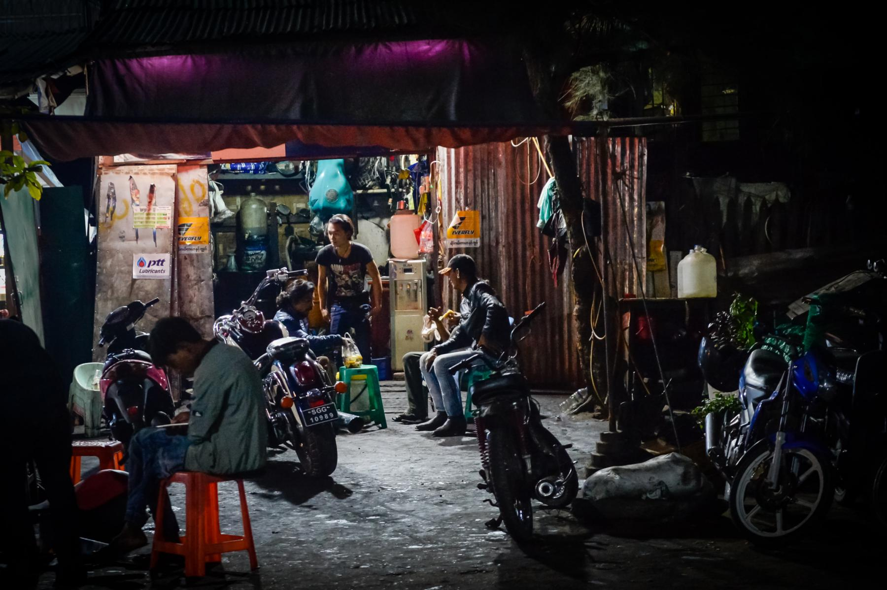 Photo Mandalay street • Myanmar