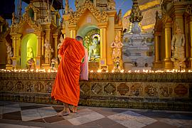 Photo Shwedagon pagoda • Rangoon • Myanmar