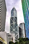 Photo Construction de building sur Hong Kong island