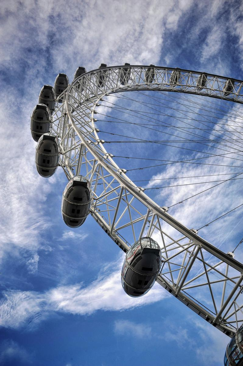 Photo London eye • Londres