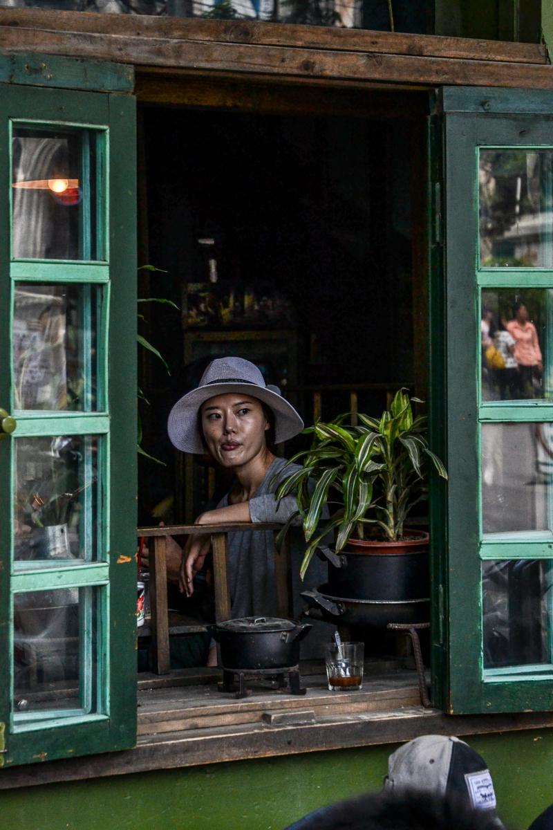 Photo Terrasse à Hanoi • Vietnam